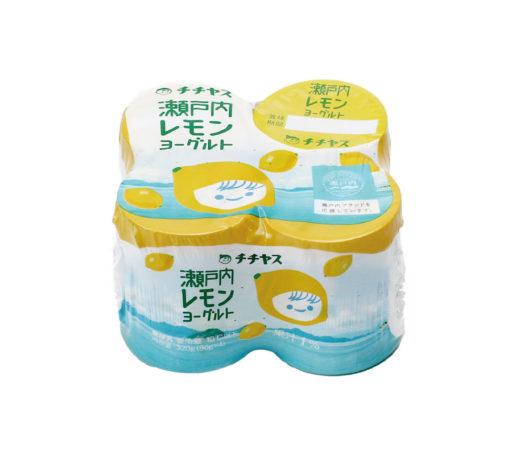 希少性の高い 香り豊かな瀬戸内産のレモン果汁を使用 配送員設置送料無料 チチヤス 6個入 未使用品 計24個 瀬戸内レモンヨーグルト80g×4p