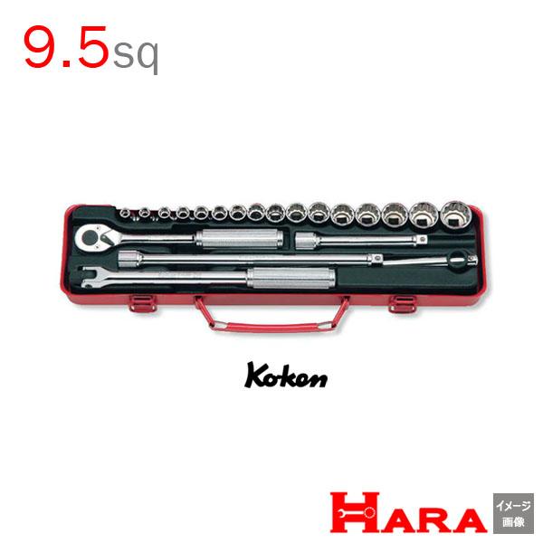 Koken コーケン 3/8 9.5 ソケットレンチセット 3206M | 工具セット ソケットレンチセット ラチェット セット レンチセットdiy ガレージ キット