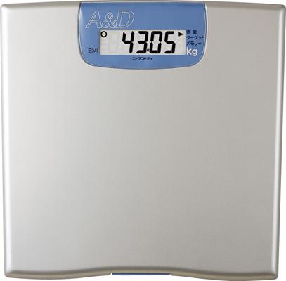 体重計 デジタル50g単位表示!パーソナル体重計UC-321※代引不可※