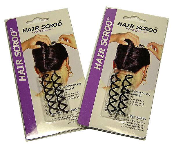 まとめ髪用ヘアピン ロング セミロング用 yuc ディスカウント 売り込み ヘアスクルー 2個組
