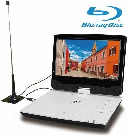 簡単操作でブルーレイ DVDと地デジが楽しめる車載用 車 クルマ TV 大画面 卓越 高画質 高機能 子供 子ども ポータブルテレビ ポータブルDVDプレーヤー ブルーレイ対応 10インチ CD対応 アンテナ工事不要 正規品 Blu-ray 地デジ対応モデル フルセグ対応 DVD 送料無料