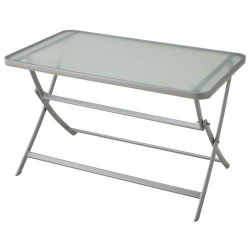 ガーデンテーブル 机 Table 強化ガラステーブル 折りたたみ式 ガーデンファニチャー 35DN-T 送料無料
