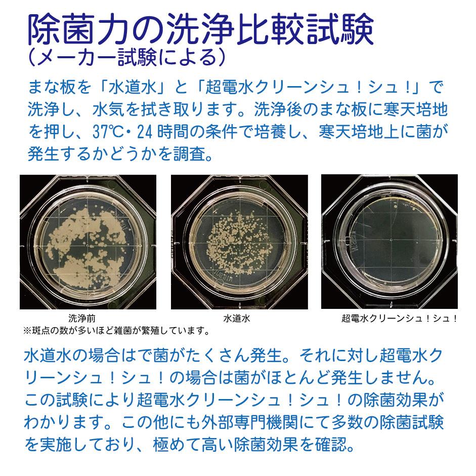 電解 水 除 力 アルカリ 菌
