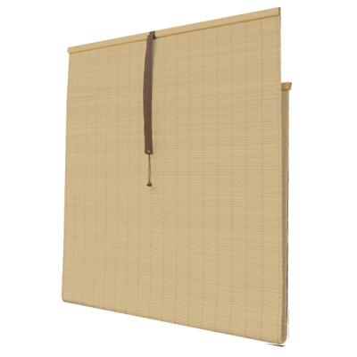 すだれ カーテン 熱に強い 水洗い WEB限定 高さ調節 お洒落 視線ガード 88×160cm 大 涼しい 快適 アイボリー PVCすだれ