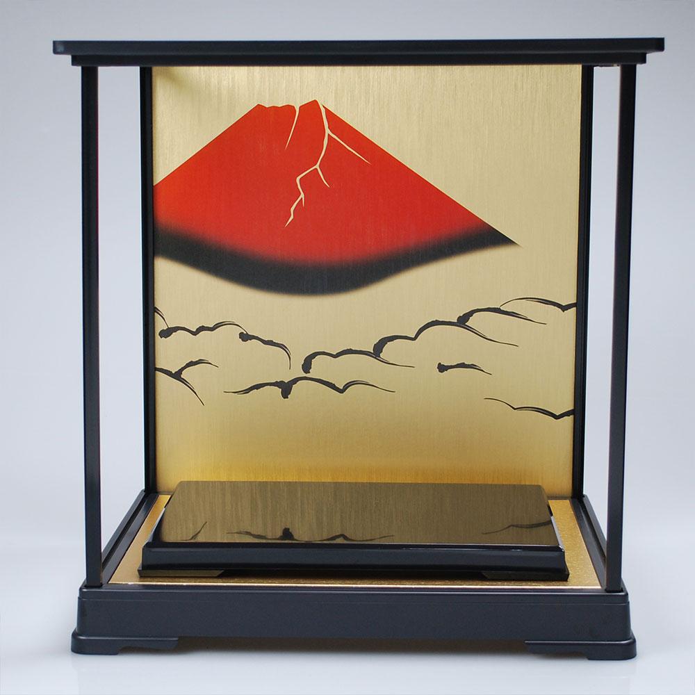 高岡銅器 ディスプレイケース [ging-054-f2] ホビー オブジェ・雑貨 鋳造兜