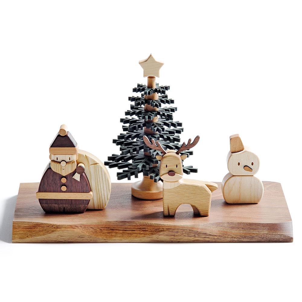ササキ工芸 ウッディクリスマス 【オブジェ・雑貨 季節商品】