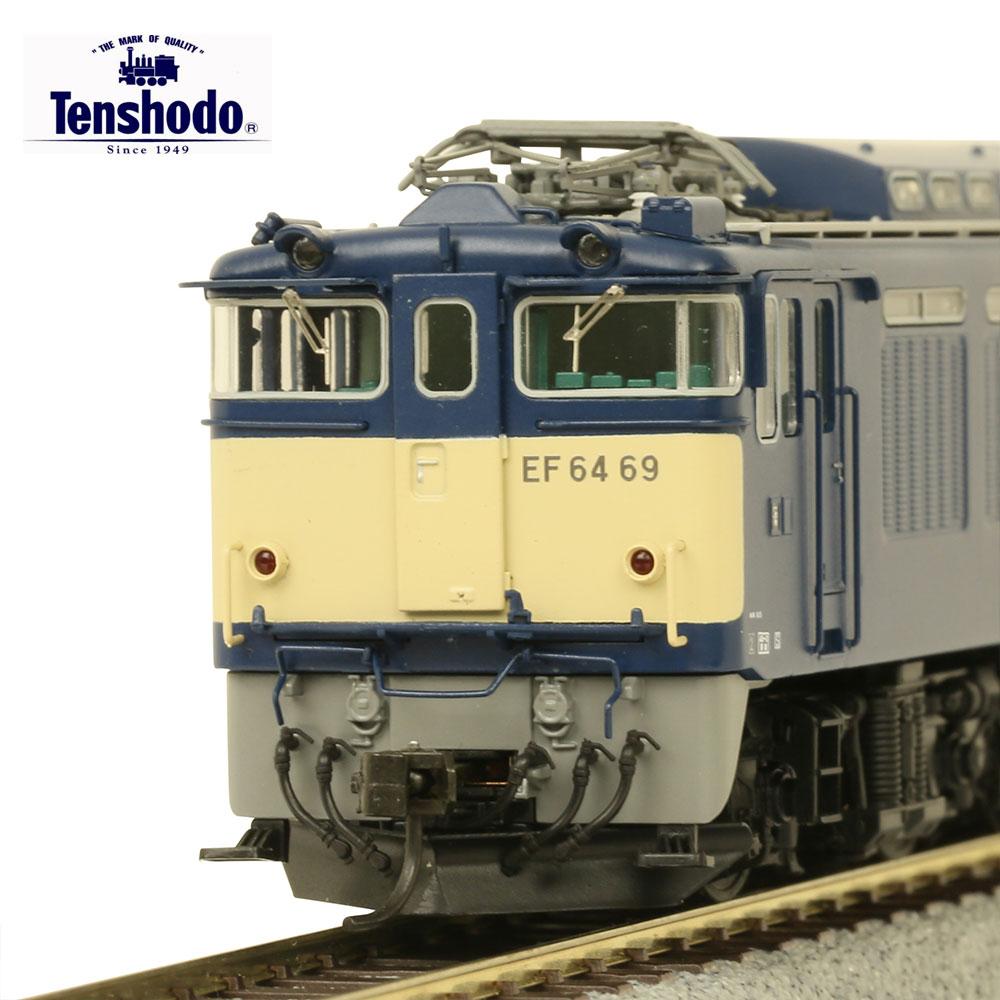 電気機関車 模型 ダイキャスト 直流 国鉄 趣味 コレクション 天賞堂 EF64形0番代 7次型EGなし(56~75号機) 国鉄タイプ カンタム・システム搭載 1/80 16.5mmゲージ 動力車 72014 HOゲージ