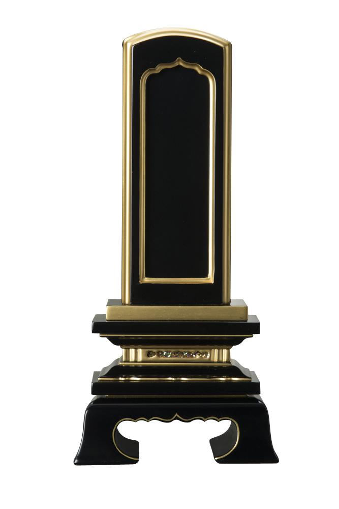 モダン 小さい コンパクト 仏具 仏壇用品 彫刻 4.5寸 塗り位牌 全商品オープニング価格 春日回出 純面粉 49-4 在庫一掃 戒名