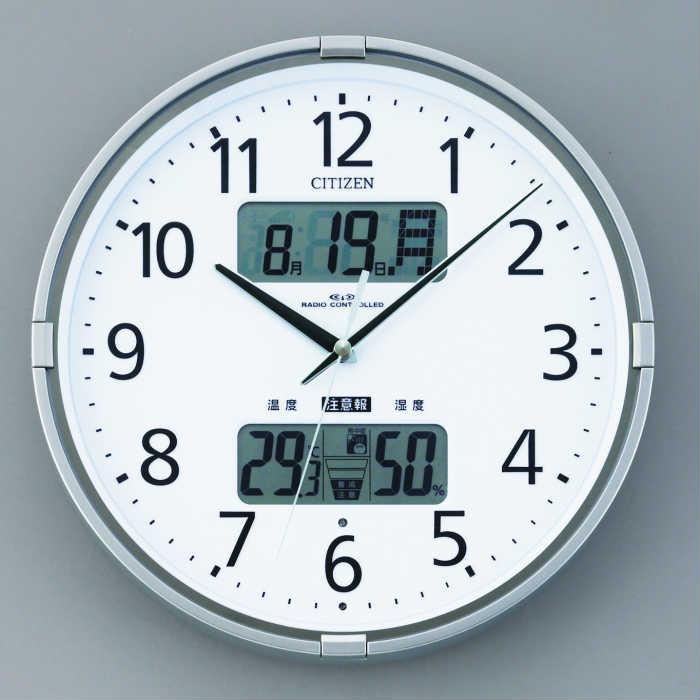 環境お知らせ機能付き掛け時計 インフォームナビF 定番から日本未入荷 シチズン SE0-223-5 内祝い 記念品 出群 新築祝い プレゼント 景品