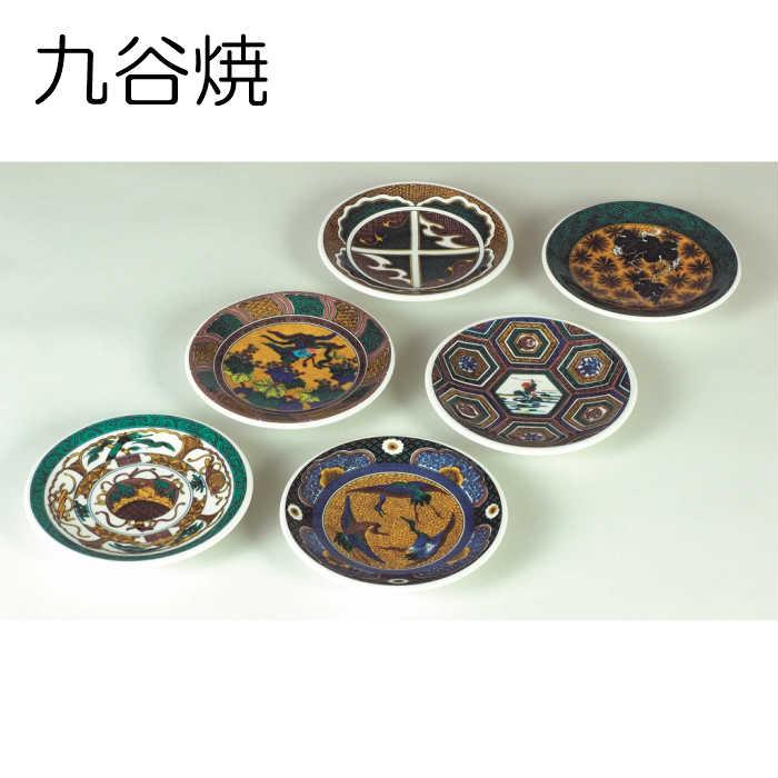 九谷焼 4号皿(6枚組) 名品六選 SE0-162-3 内祝い 記念品 景品 香典返し