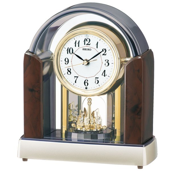 SEIKO 電波置時計 回転飾り付 SE0-221-6 送料無料 景品 記念品 新築祝い プレゼント