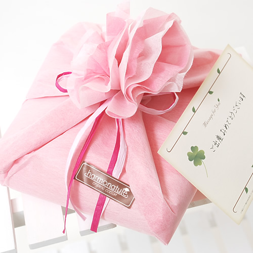 Non Woven Cloth Wrapped Pink Message Cards Accepted Cotton Organic Birthday Gift Natural Gifts Thank You Gift Kids Store Rakuten