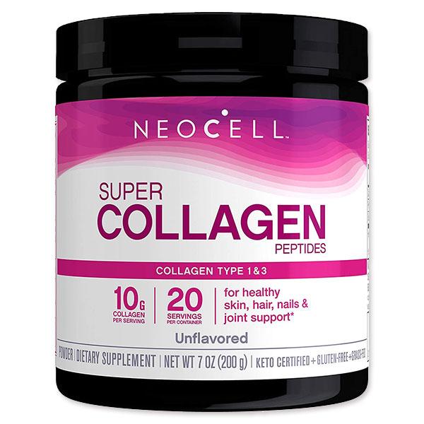 スーパーコラーゲン タイプ 1 3 10 000mg 7オンス 200 ヘアケア g コラーゲンパウダー 人気激安 ネオセル ネイルケア 安心の定価販売 Neocell スキンケア