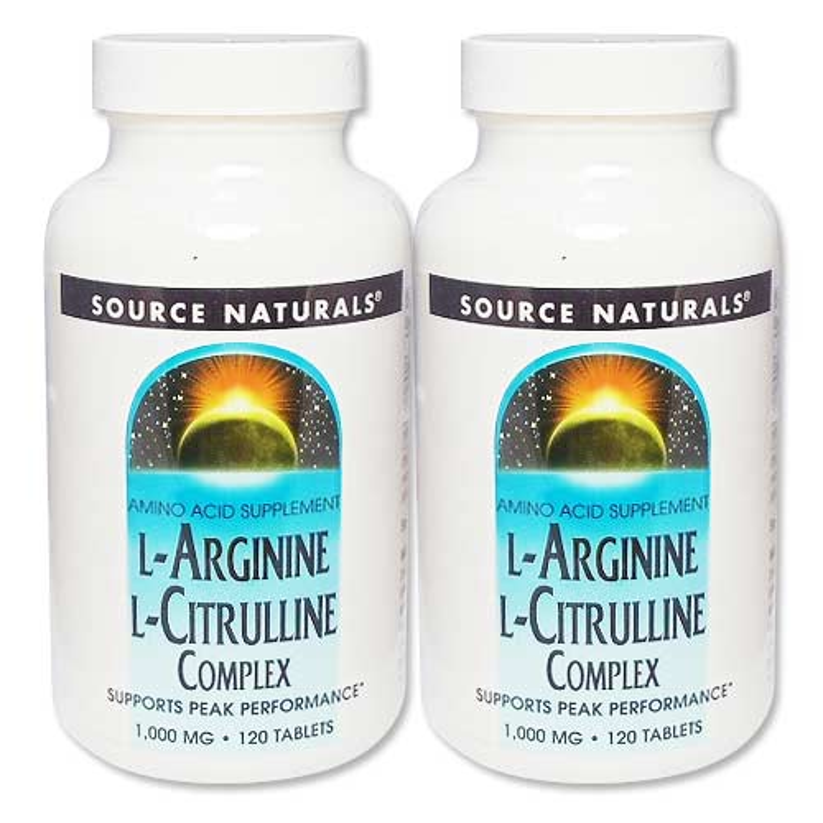 L-アルギニン 大人気 L-シトルリンコンプレックス1000mg 2個セット 120粒 !超美品再入荷品質至上!