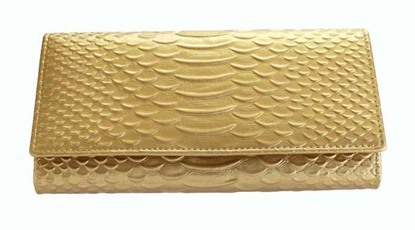 ゴールドカラーは 気分を豊かにすると共に金運 財運そして 事業運 人材運も高めてくれます 牛 革 仕分け便利 収納 金運如意 ゴールドカラー 蛇柄 財布 メーカー公式ショップ 待望 長財布