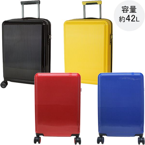 スーツケース キャリーケース ディッキーズ Dickies アイコンキャリー 42L Sサイズ 2泊 3泊 機内持込可 17-11 ブラック イエロー レッド ブルー