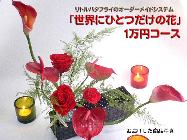 【送料無料】「オーダーメイドシステム・世界にひとつだけの花」【1万円コース】