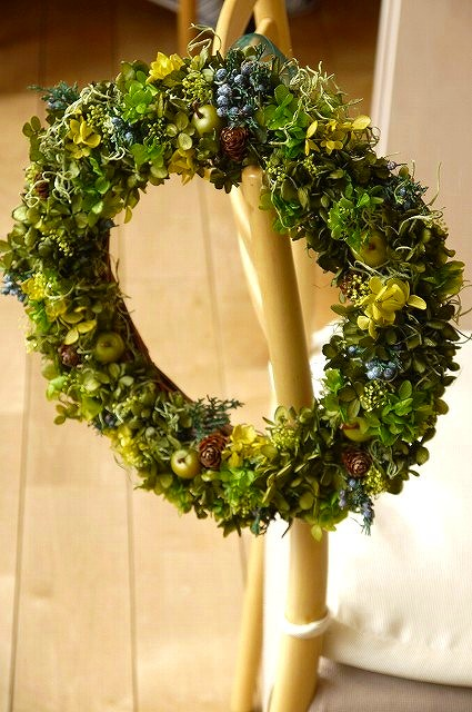 「breeze ~natural~」プリザーブドフラワー リース 玄関 花 アレンジ お返し 彼女 ナチュラル 玄関 結婚お祝い プレゼント 誕生祝い 出産祝い 結婚記念日 妻 贈り物 長寿 贈り物 ブライダルギフト おしゃれ シンプル