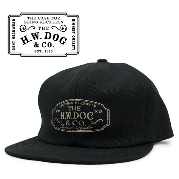 TRACKER CAP 割り引き ビンテージ 帽子 日本製 THE H.W.DOGCO. トラッカー ドッグアンドコー キャップ 大好評です ブラック