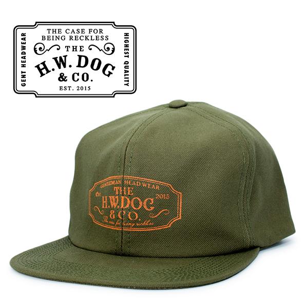 THE H.W.DOG&CO. ドッグアンドコー トラッカー キャップ オリーブ