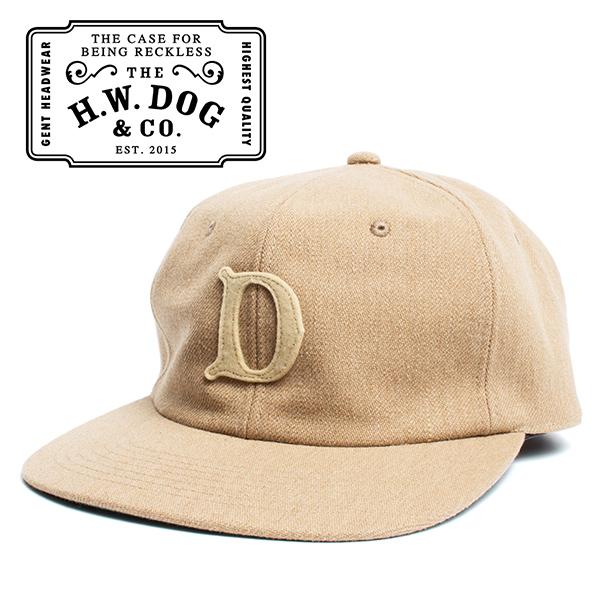 THE H.W.DOG&CO. ドッグアンドコー ベースボールキャップ ベージュ