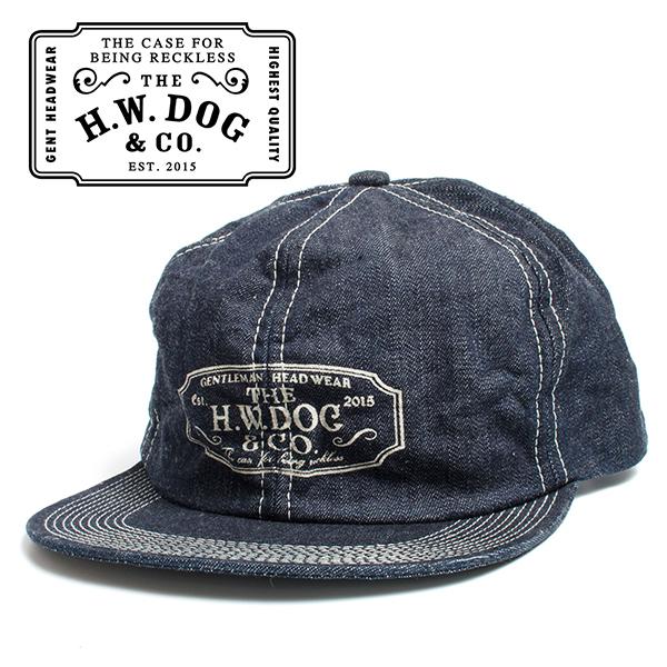 THE H.W.DOG&CO. ドッグアンドコー デニム トラッカー キャップ 帽子 インディゴ
