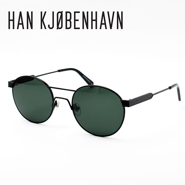 ハン サングラス メガネ Han Kjobenhavn GREEN グリーン MATT BLACK