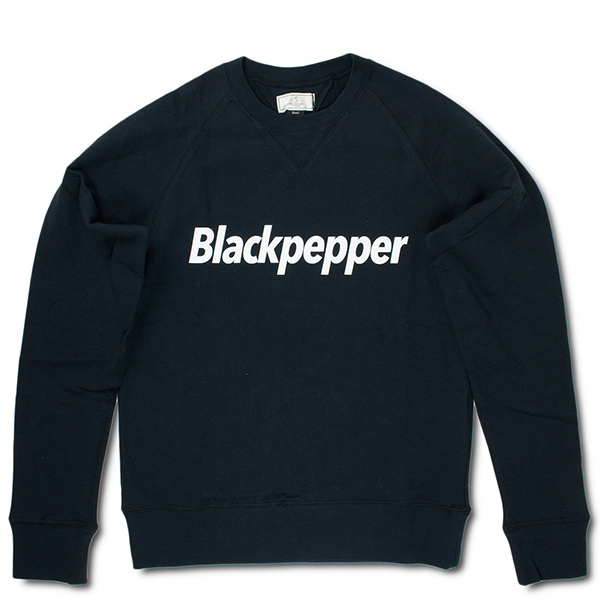 クルーネックスウェット 両Vガゼット付き 長袖 卓出 ファイブブラザー スウェット 両V SHIRT 激安☆超特価 BROTHER ブラック SWEAT FIVE Blackpepper