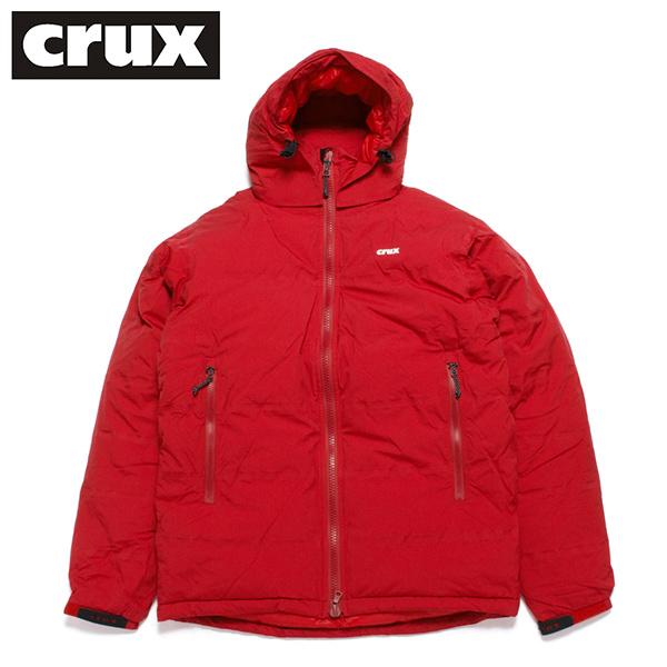 crux ダウンジャケット クラックス マグマジャケット 防水透湿 800 EUフィルパワー ダークレッド