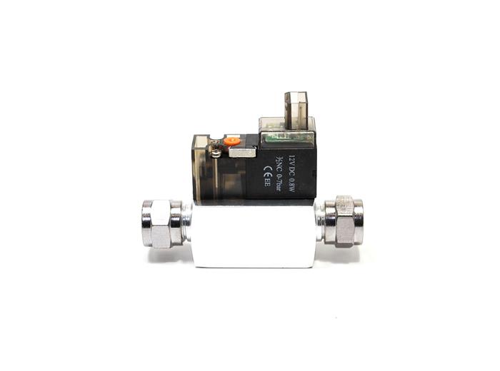 CO2電磁弁による毎日のCO2コントロールに CO2用電磁弁 SV120-SILVER