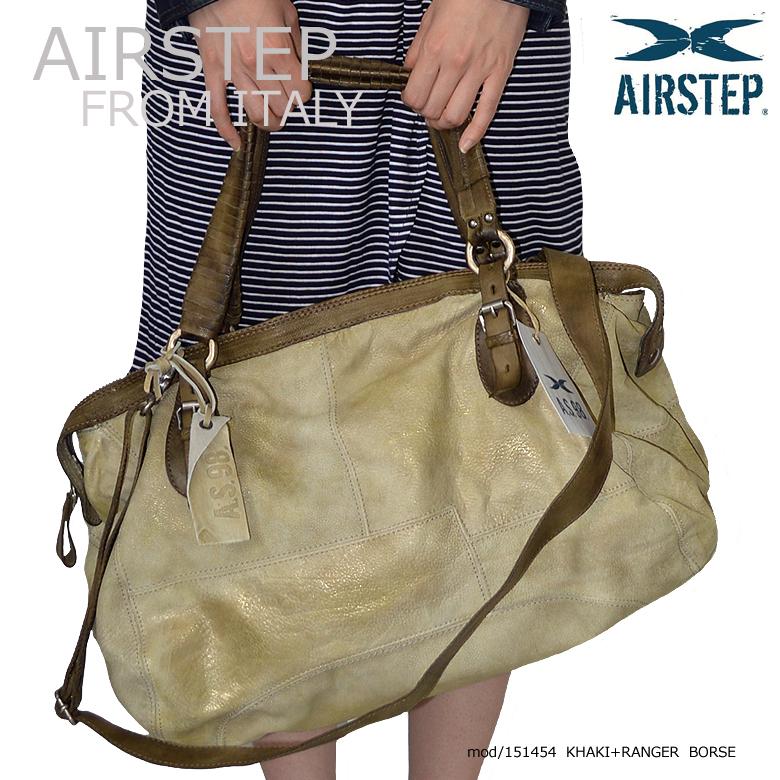 イタリア製 AIRSTEP ブランドの本革レザーボストンバッグ レディース メンズ 本革ショルダーバッグ レザーボストンバッグ 2Wayレザーバッグ インポートブランド レザーバッグ レザーバック 本革 鞄 かばん メンズ レディース AIRSTEP 151454