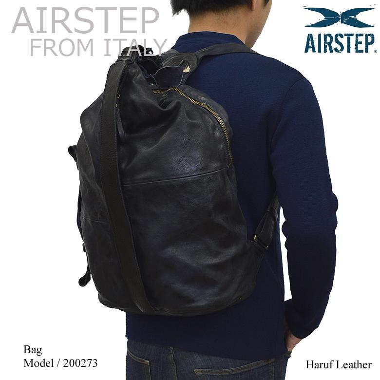 【イタリア製 AIRSTEP】 ブランドバッグ リュック リュックサック a4 本革 メンズ レディース レザーバッグ バッグパック デイパック 革 皮 旅行 通勤 通学 おしゃれ 200273 春レザー