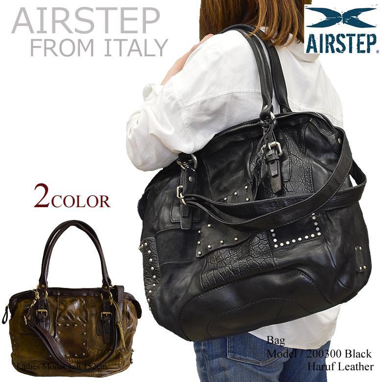 【AIRSTEP】イタリア製 ブランド レザーバッグ ショルダーバッグ レディース 斜めがけ 本革 a4 通勤 旅行 日帰り バッグ 鞄 レザー メンズ/レディース 200300 春
