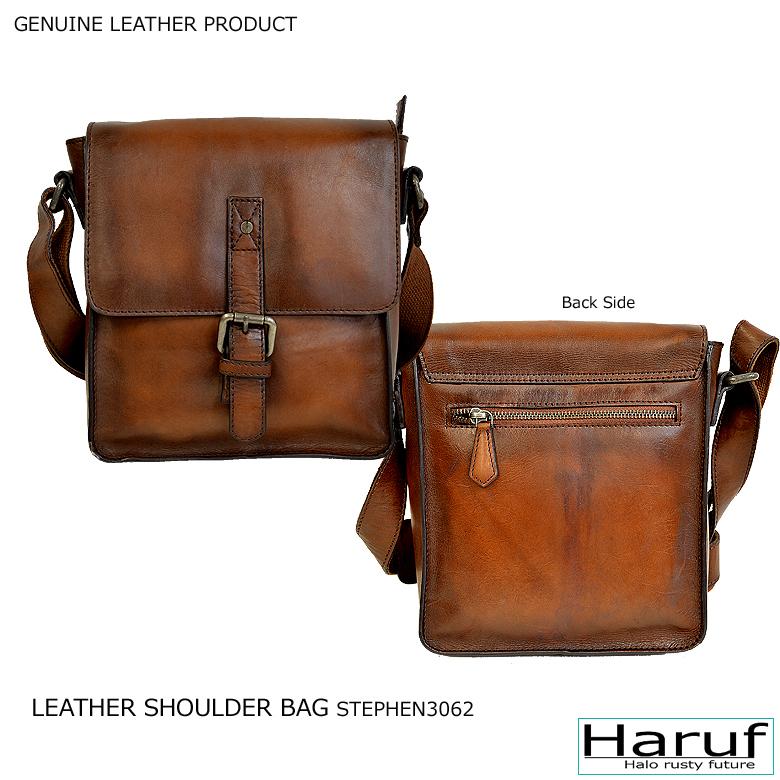 2107d986b78 It is a genuine leather bag men leather leather bag for a genuine leather  leather bag messenger bag slant