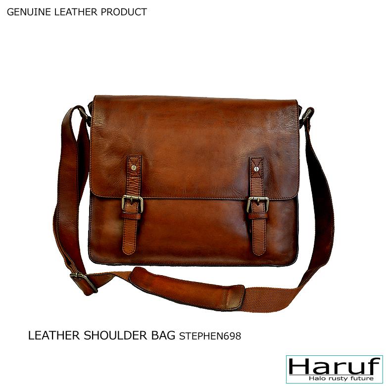 3237b9604f6 It is a genuine leather bag men leather leather bag for a leather bag  leather shoulder bag messenger bag slant