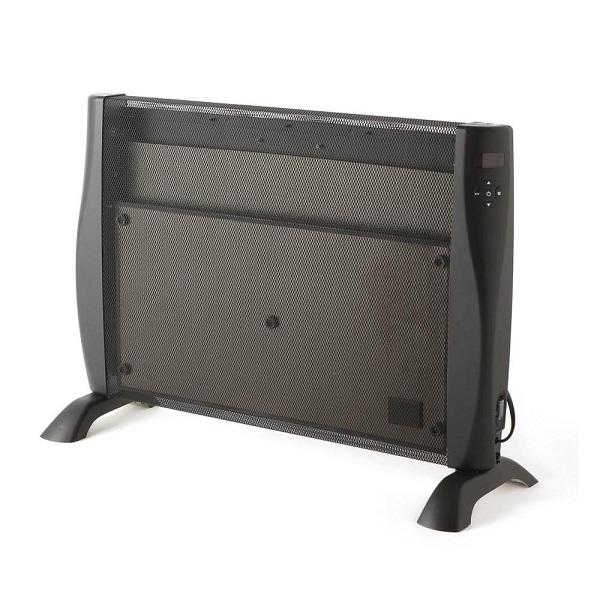 遠赤外線 パネルヒーター リモコン付き 足元 キッチン ダイニング オフィス タイマー デジタル表示 安全装置付き サーモスタット
