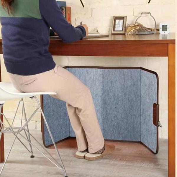 フリースタイル デスクヒーター 足元ヒーター 机 定番スタイル テーブル 薄型 3段階調節 床置き 超激得SALE 足元 軽量