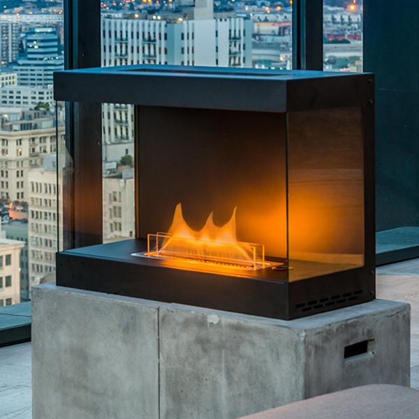 ヴェント・フリー暖炉 + 専用燃料 1L×2個(2L)
