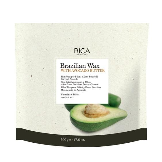 普通郵便送料無料 RICA リカワックス ブラジリアンワックス AVBd アボカドバター 500g