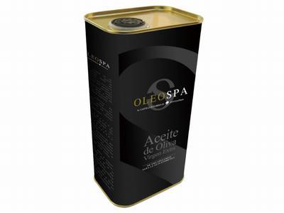 メール便送料無料 OLEO SPA オーガニックオリーブオイル 1000ml 缶タイプ