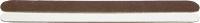 メール便OK ビソウ エメリーボード茶 人気海外一番 白 ネイルケア 280 感謝価格 180 ファイル