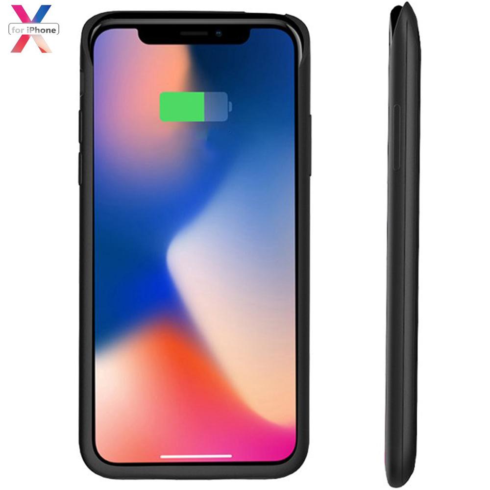 新品 iPhoneX/XS/10 対応 バッテリーケース 5200mAh バッテリー内蔵ケース バッテリー iPhoneX 適応 battery case 大容量 5.8インチ用 黒