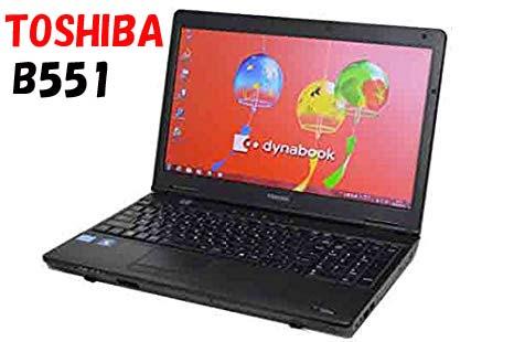 新品バッテリパック搭載 東芝 DynaBook B551 第2世代Core-i5 4GBメモリ HDD 320GB 正規版Office搭載 新品キーボード交換済み テンキー付きタイプ追加可能 15.6インチ大画面 無線搭載 eSATA 中古パソコン ノートパソコン TOSHIBA Windows10Pro 【送料無料】