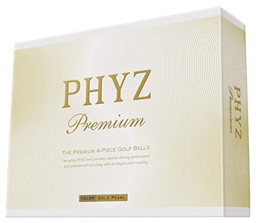 ブリヂストン日本正規品PHYZ ラッピング無料 セール特価 Premium ファイズプレミアム ゴルフボール1ダース 12個入