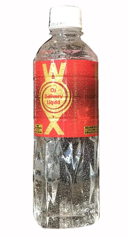 酸素をより身体に吸収しやすくするために水へ酸素を高濃度に溶かしこんだ酸素リキッドwox WOX 500ml×3本セット わかさ 海外 酸素補給水 飲む酸素 WX 藤原紀香 WX 海外限定 のりか 高濃度酸素リキッドWOX 新世代酸素水ウォックス