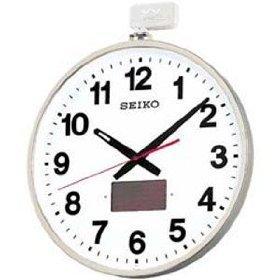 【名入れ 文字入れ無料】SEIKO CLOCK (セイコー クロック) 掛時計/掛け時計 ソーラー屋外用 電波時計 SF211S
