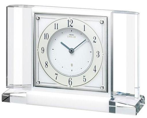 【SEIKO EMBLEM(セイコー エンブレム) 置き時計/置時計 HW564W【楽ギフ_のし】【楽ギフ_名入れ】