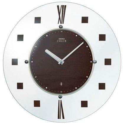 SEIKO EMBLEM(セイコー エンブレム) 掛け時計/壁掛け時計 HS529B(超薄型モデル)【セイコー エムブレム】【P20】【楽ギフ_のし】【楽ギフ_名入れ】