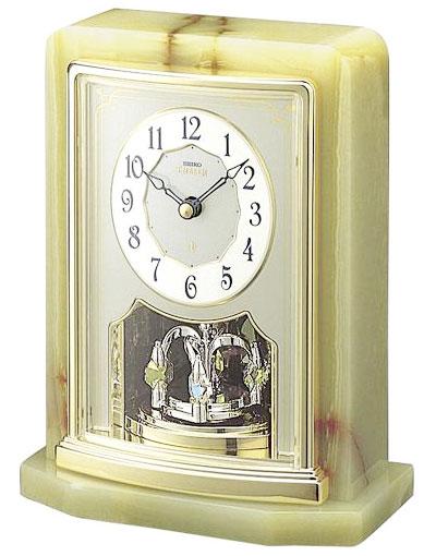 SEIKO EMBLEM(セイコー エンブレム) 置き時計/置時計 HW465G 【セイコー エムブレム】【P20】【DE】【楽ギフ_のし】【楽ギフ_名入れ】