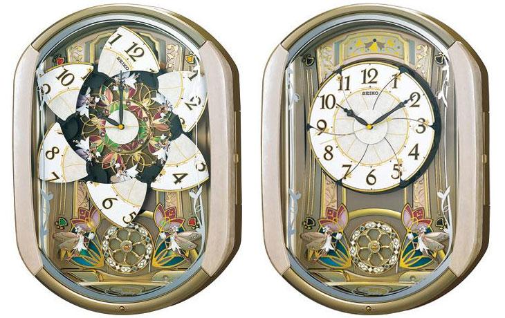 【予約品】【名入れ 文字入れ無料】SEIKO CLOCK (セイコー クロック) 電波式 掛時計/掛け時計 ウエーブシンフォニー RE567G